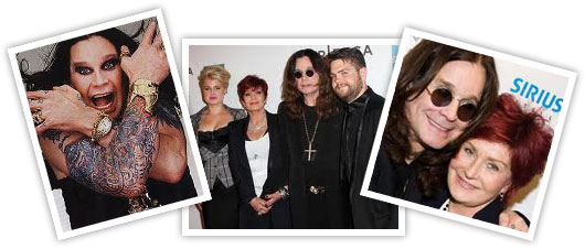 Ozzie and Sharon Osbourne