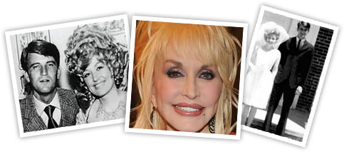 Dolly Parton and her husband Carl