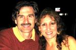 Marci Shimoff and Sergio Baroni