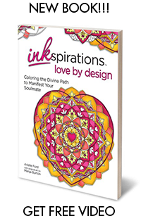 inkSpirations - Love by Design - Coloring the Divine Path to Manifest your Soulmate